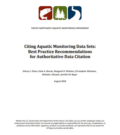 You are currently viewing Citing aquatic monitoring data sets