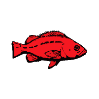 PSMFC red fish logo