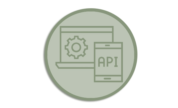 Icon for REST API webpage