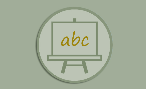 Icon for Glossary webpage