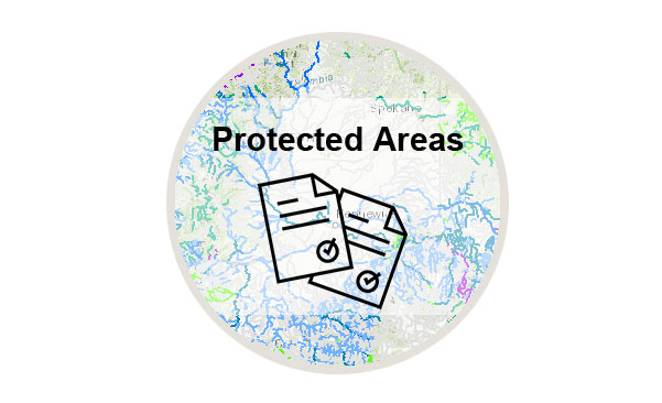 Logo for the Protected Areas Documentation webpage